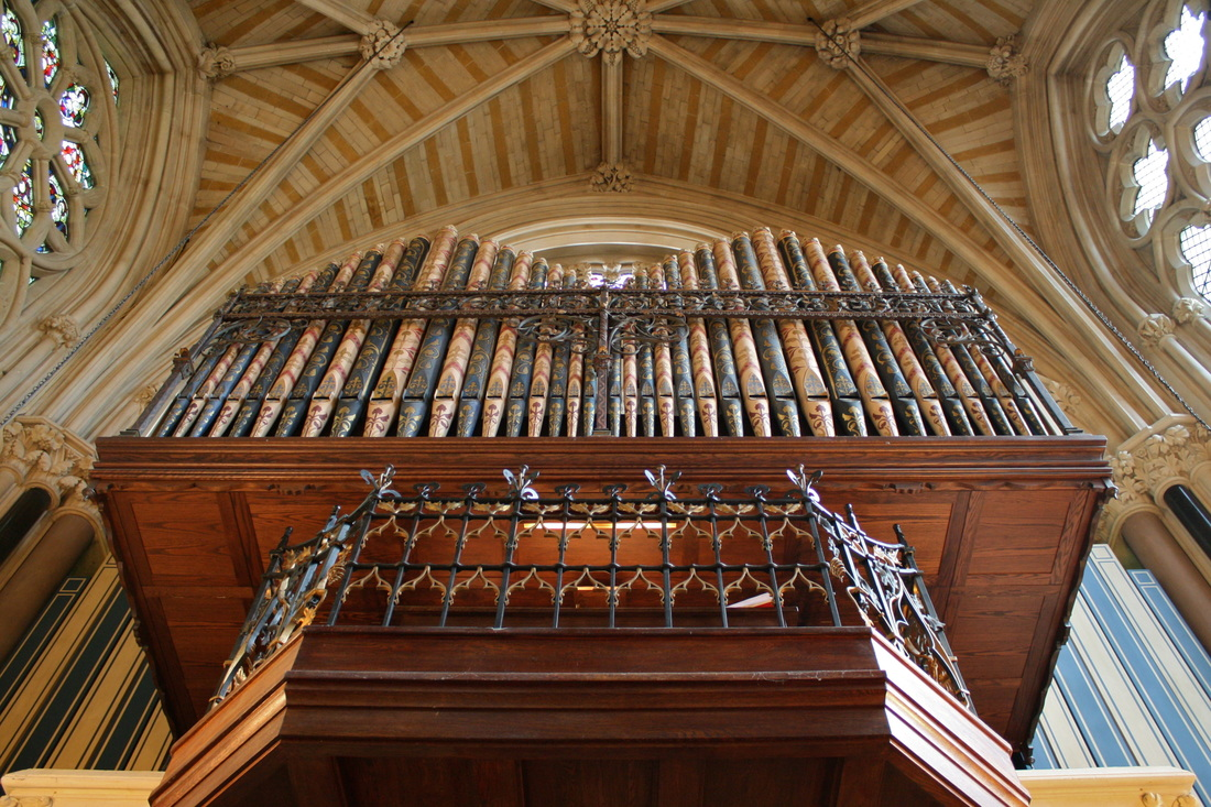 The Walker Organ at Exeter College Chapel, Oxford
