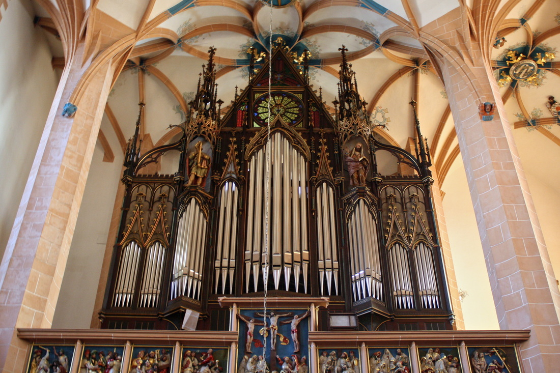1884 Walcker Organ of the Annenkirche, Annaberg-Buchholz