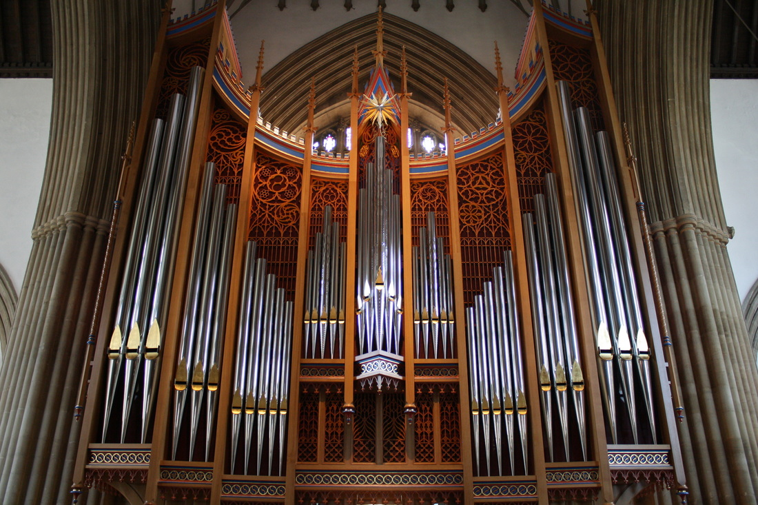Dobson Organ at Merton College Chapel, Oxford